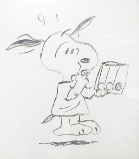 Charles Schulz Santa Rosa Hospital Drawing 02