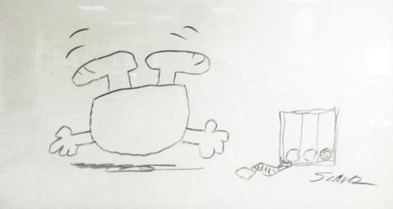 Charles Schulz Santa Rosa Hospital Drawing 06