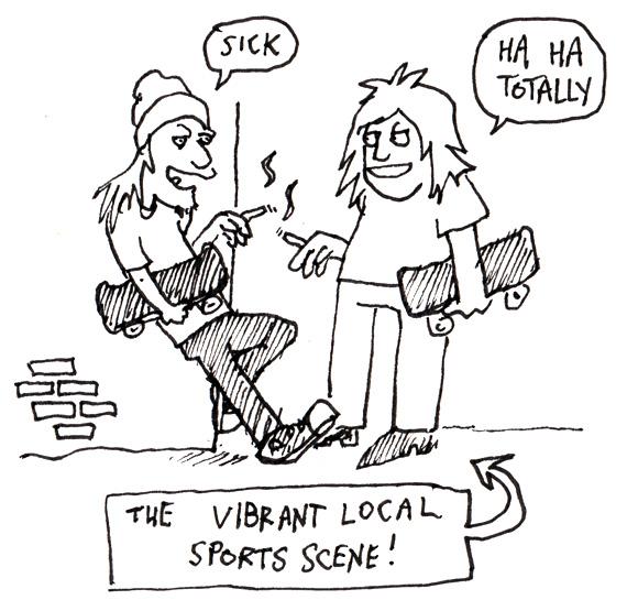 Vibrant-local-sports-scene